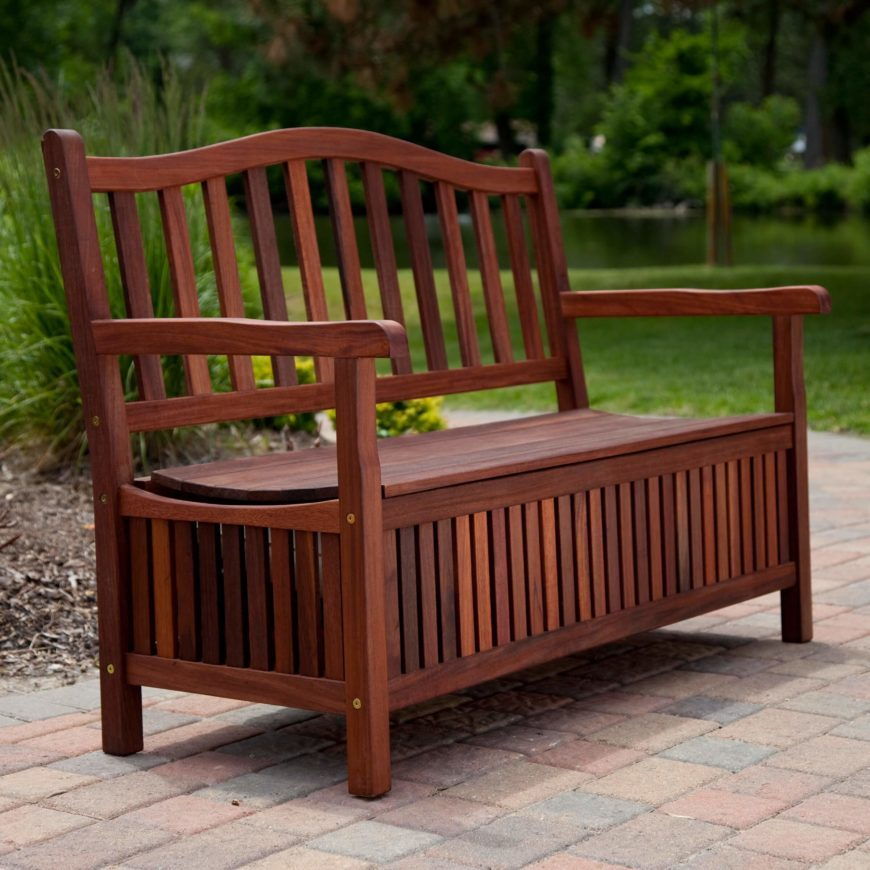 Exceptionnel The Storage Bench Is An Especially Great Choice For Patio Furniture,  Offering Built In