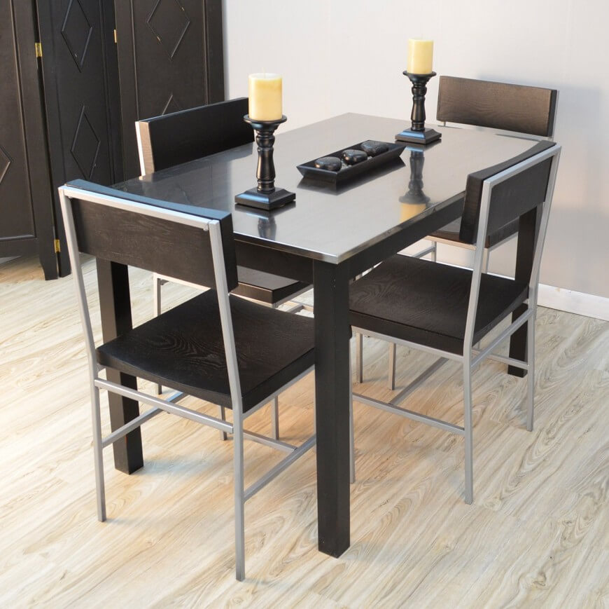 Industrial Modern Dining Room Table: 29 Types Of Dining Room Tables (Extensive Buying Guide