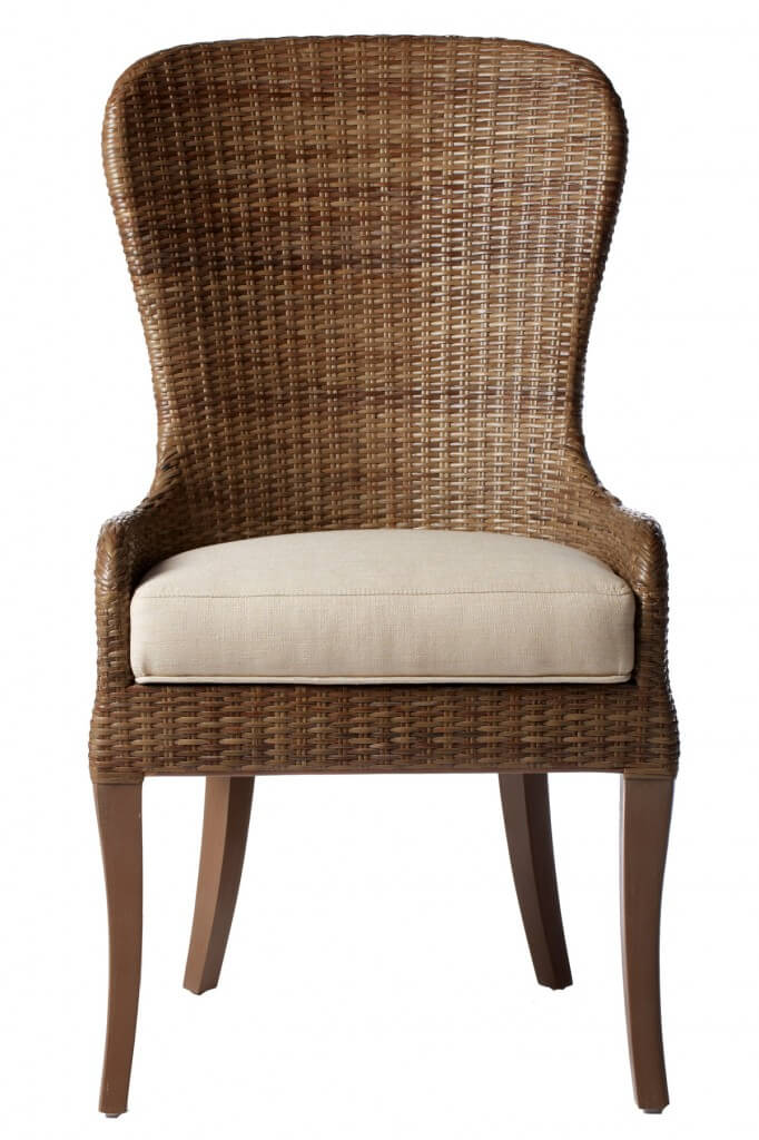 Wicker Frames Are Most Commonly Found On Dining Chairs Meant For Patio Use,  But The