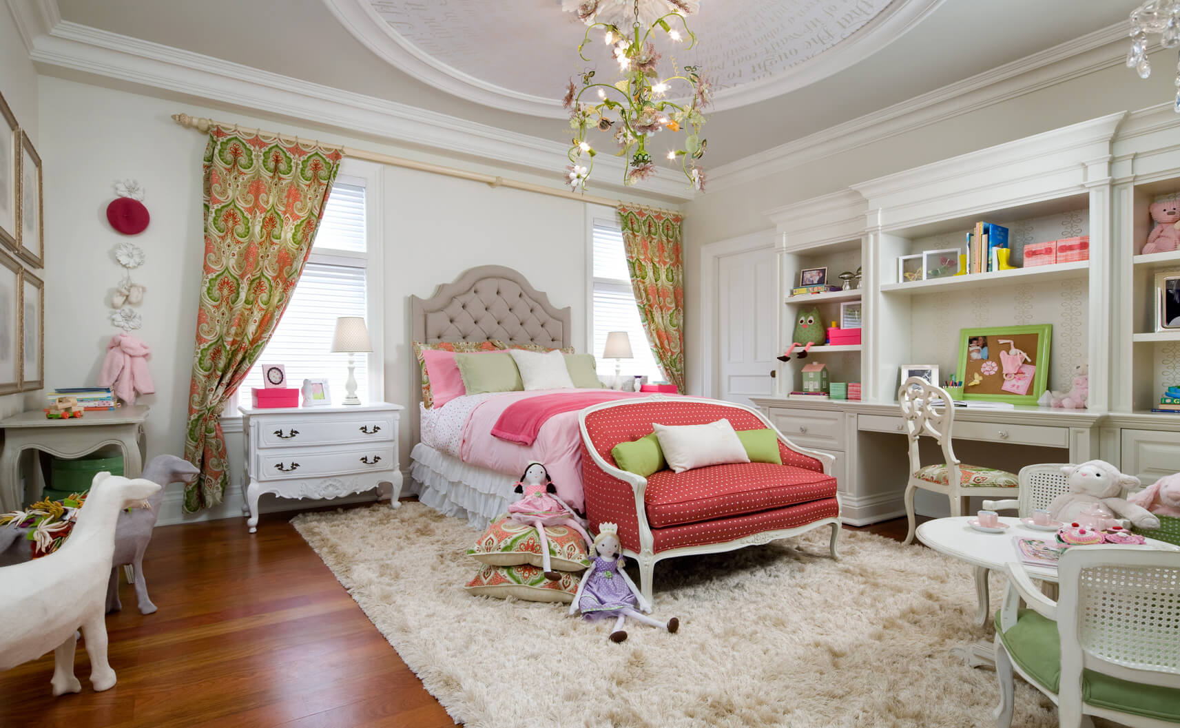 resplendent little girl's room by candice olson design and brandon