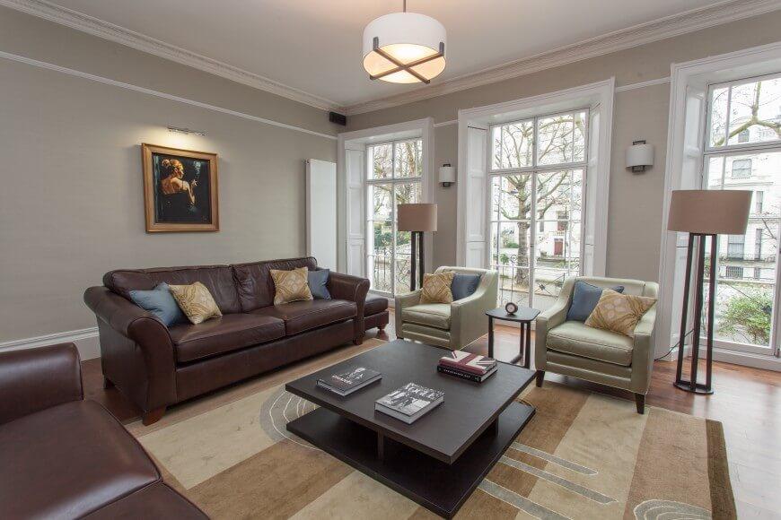 Contemporary Large Urban Apartment Interior Design Renovation