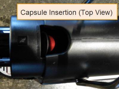Nespresso Pixie Capsule Insertion Location
