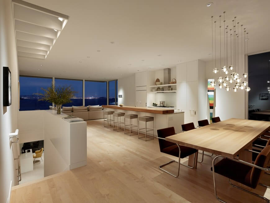 Sausalito home reno by turnbull griffin haesloop architects Ambienti interni moderni