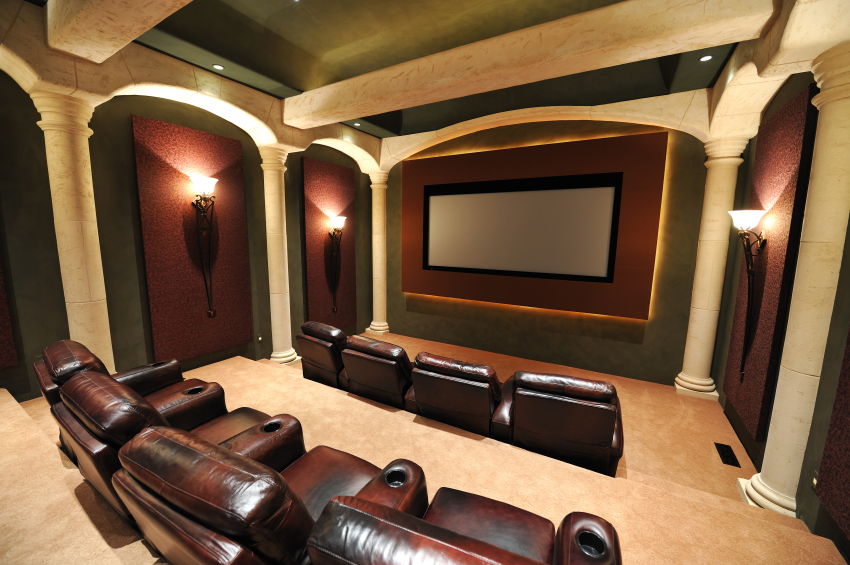 Home Theater Room Ideas Retro Hollywood Style Home Theatre Homes