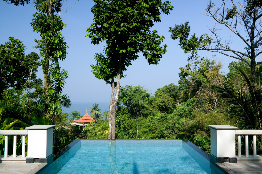 The Design And Location Of This Infinity Pool Is Very Similar To The  Previous Pool,