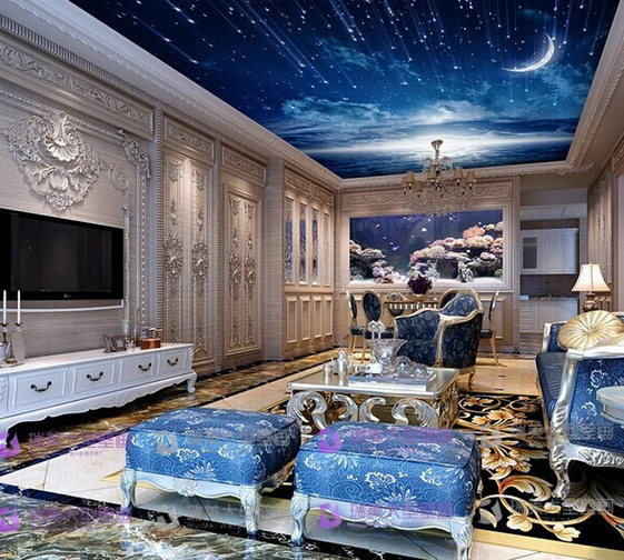This Luxurious Living Room Has A Very Ornate, Traditional Style In Bright,  Non  Part 41