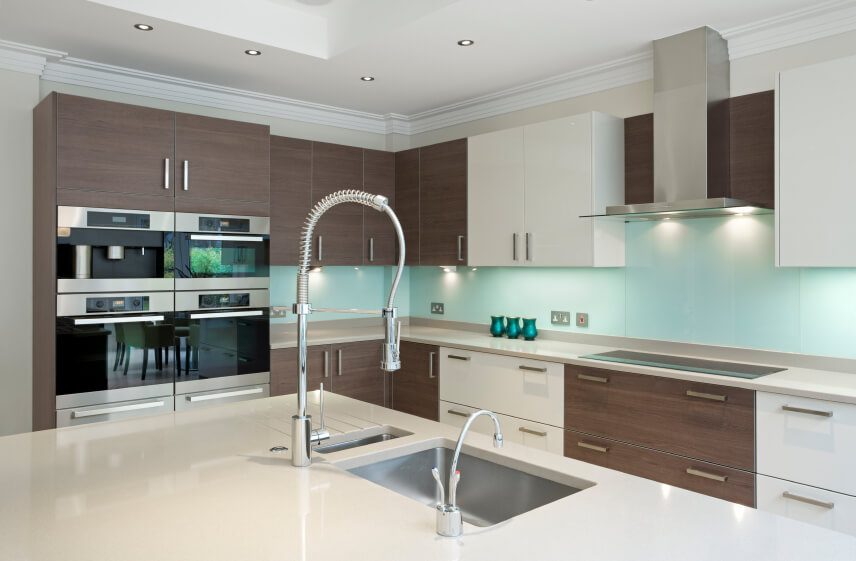 Small Kitchen Island Ideas - High end kitchen countertops