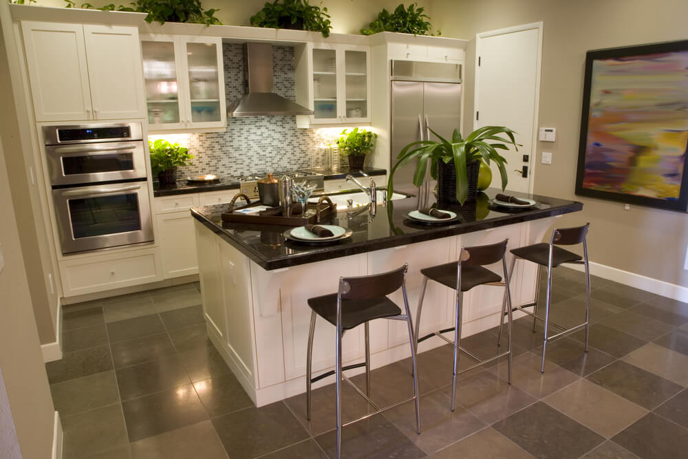 Open Galley Kitchen With Island 45 upscale small kitchen islands in small kitchens