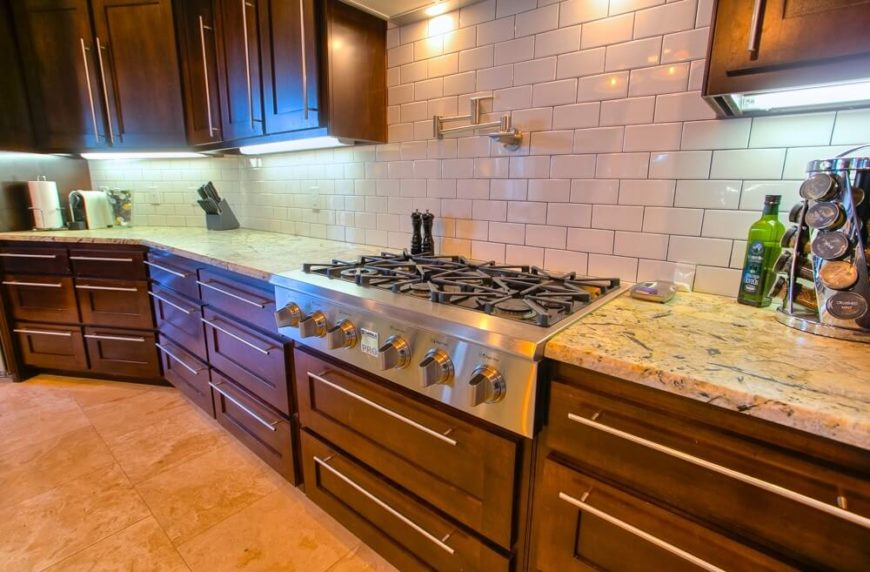 High End Kitchen Backsplash Tile