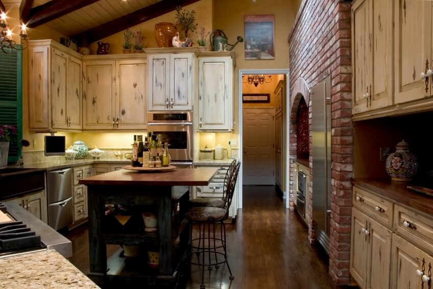 46 fabulous country kitchen designs ideas for Old country kitchen designs