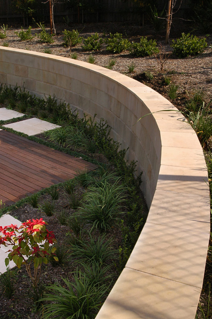 50 Backyard Retaining Wall Ideas and Terraced Gardens (Photos) on Backyard Wall Covering Ideas id=93082
