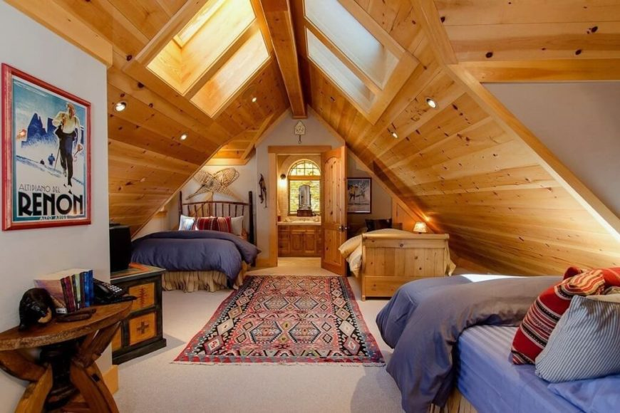 60 Attic Bedroom Ideas Many Designs With Skylights