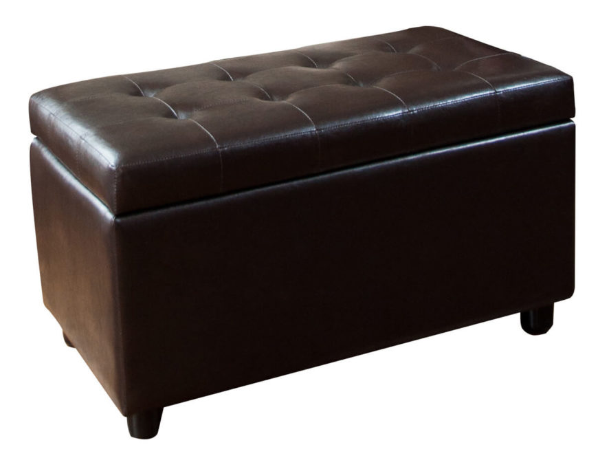 21 Brown Ottomans Under 100 Square Rectangle Round Styles