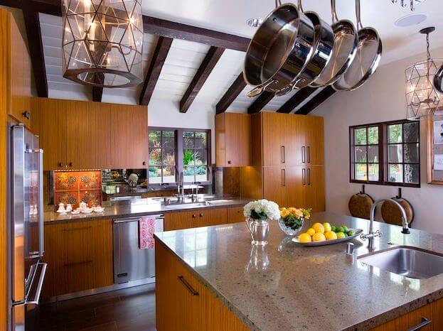 Club laurel canyon residence by socal contractor for Kitchen in the canyon