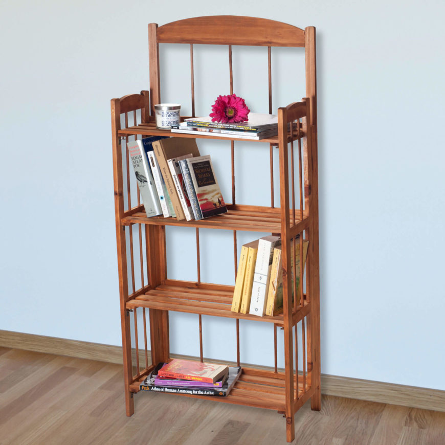 14 Lavish-Home-45-Shelf-Bookcase