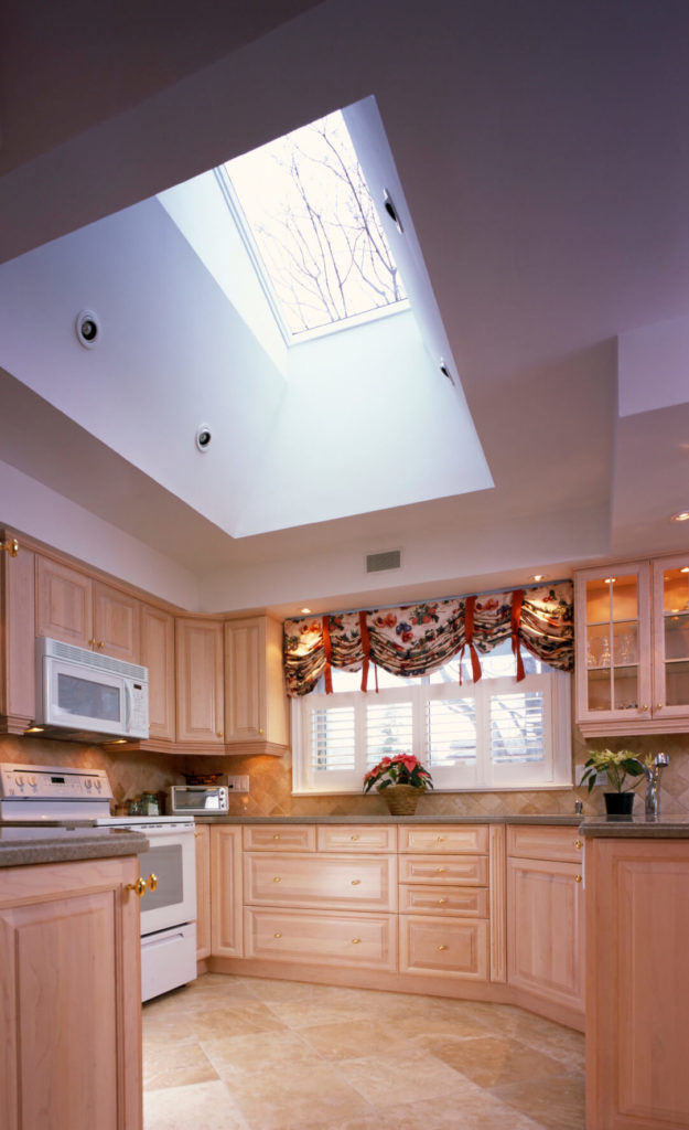 52 beautiful kitchens with skylights pictures this lovely natural light hardwood kitchen is is full of storage space and subtle designs workwithnaturefo