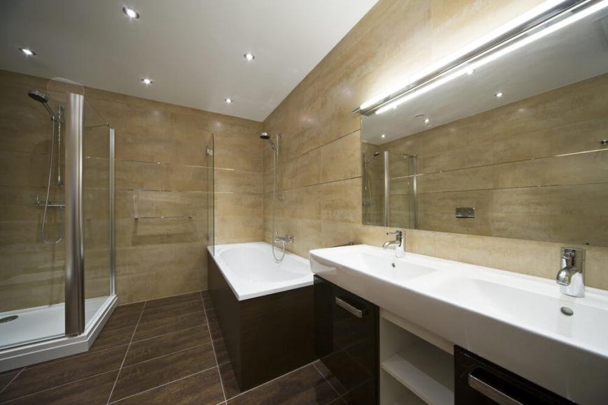Bathroom Dark Floor Small Bathroom Dark Floor  Szolfhok