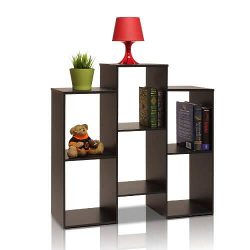 3 furinno parsons bookcase