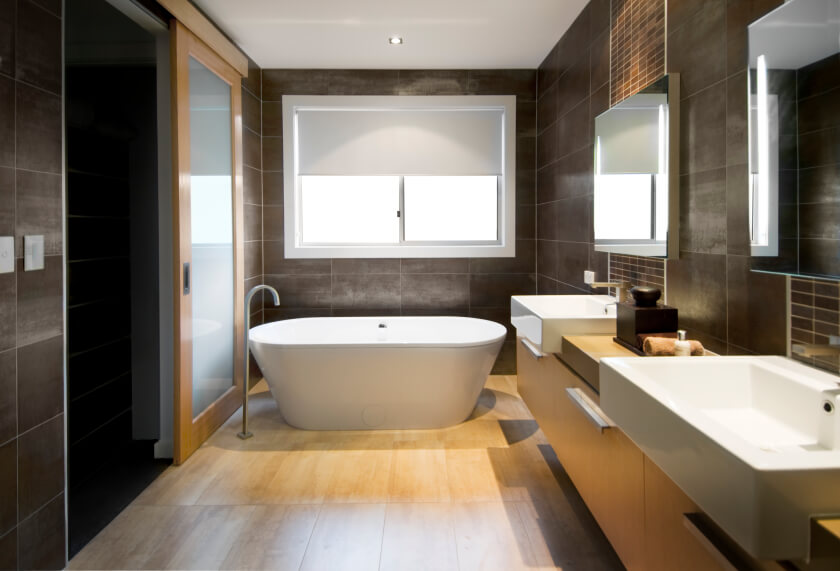 brown master bathroom ideas