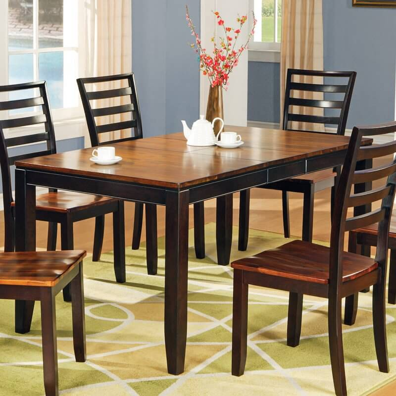 This Ultra Sleek Dining Room Table Features Intricately Carved  Construction, With Bright Natural Wood