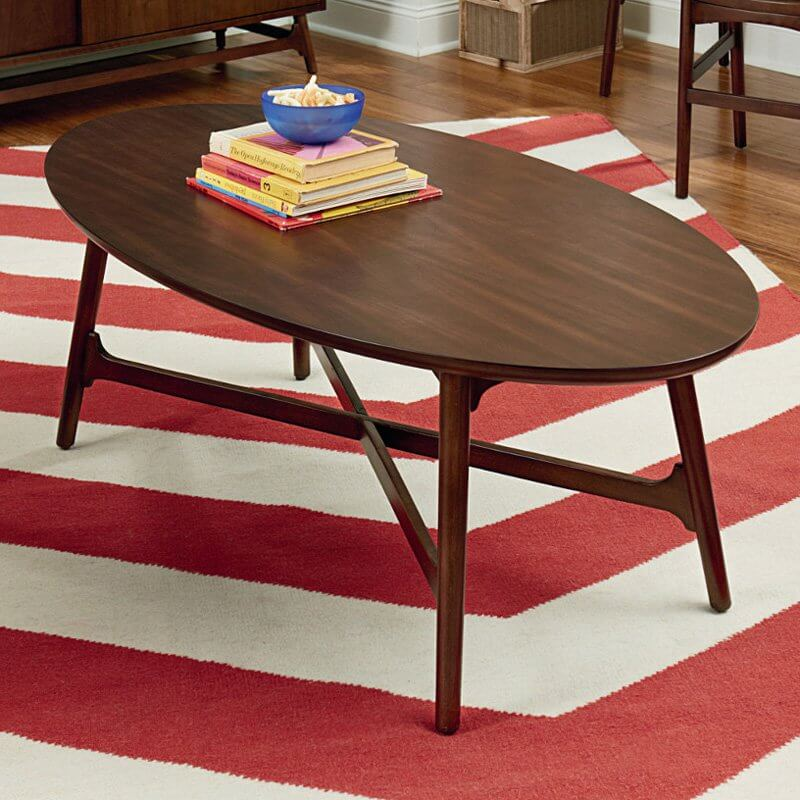 Coffee Table Legs Brown: 20 Top Wooden Oval Coffee Tables