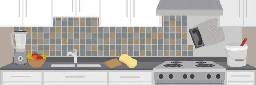 How to Tile a Kitchen Backsplash: an Illustrated DIY Guide