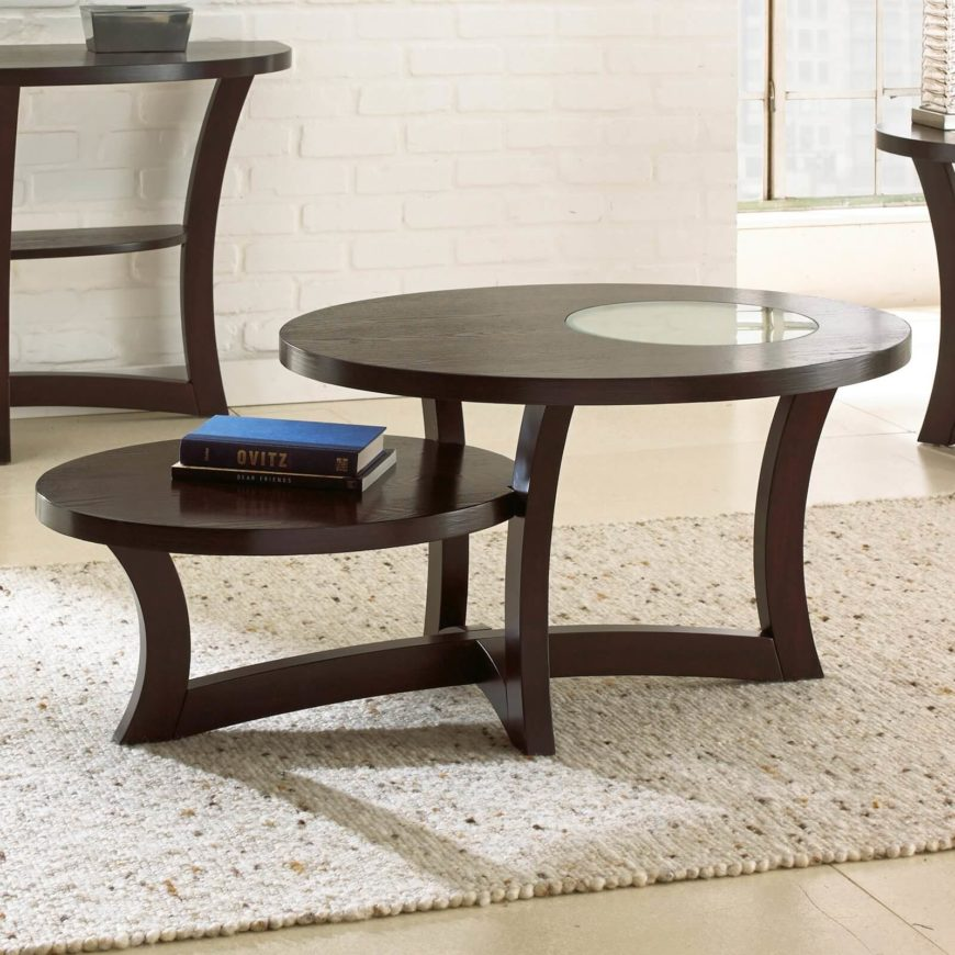 Oval Espresso Coffee Table: 20 Top Wooden Oval Coffee Tables