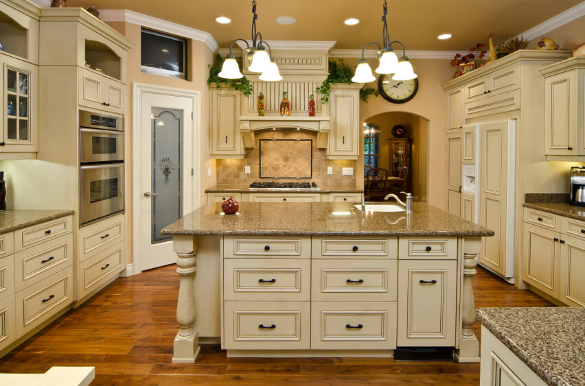 White Kitchen Lighting 32 spectacular white kitchens with honey and light wood floors
