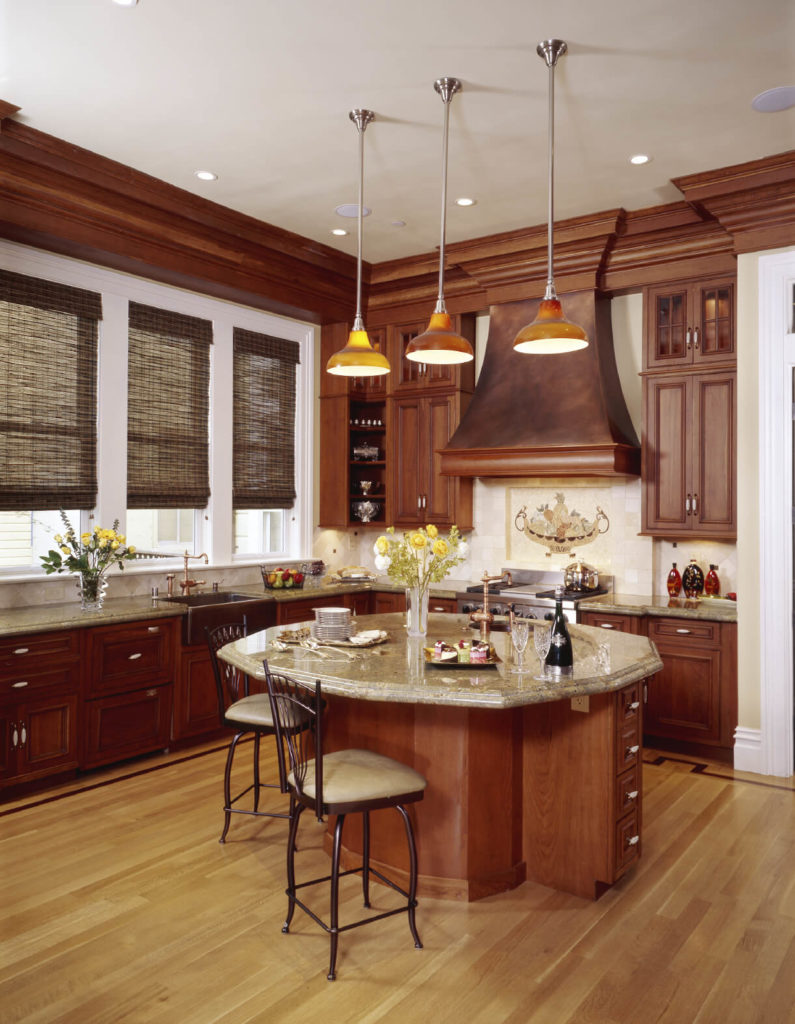 Wood Floors In Kitchens 52 Enticing Kitchens With Light And Honey Wood Floors Pictures