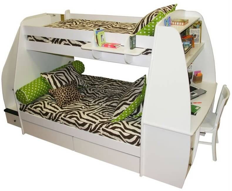 desk queen size with and over slide bed bunk stairs full storage loft beds