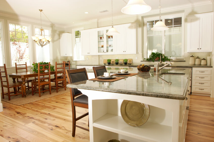 White Kitchen Light Granite simple white kitchen light floors pristine of island stands out in