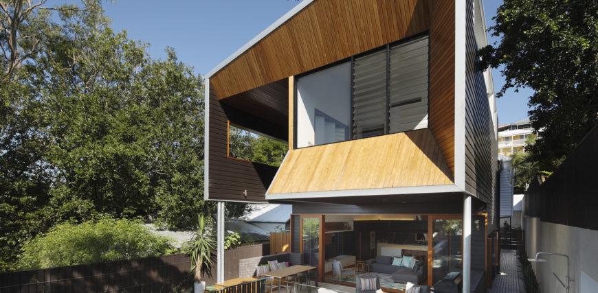 Wilden Street Residence by Shaun Lockyer Architects