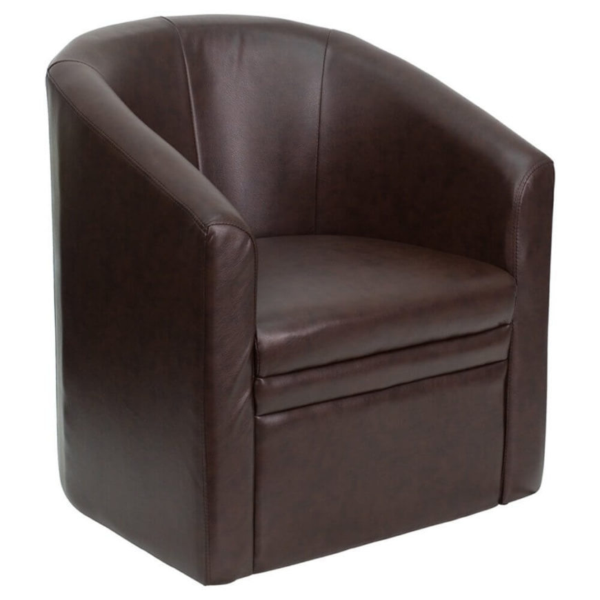 Superior This Curved Club Chair Is The Perfect Seating Option For A More Mature,  Elegant Man