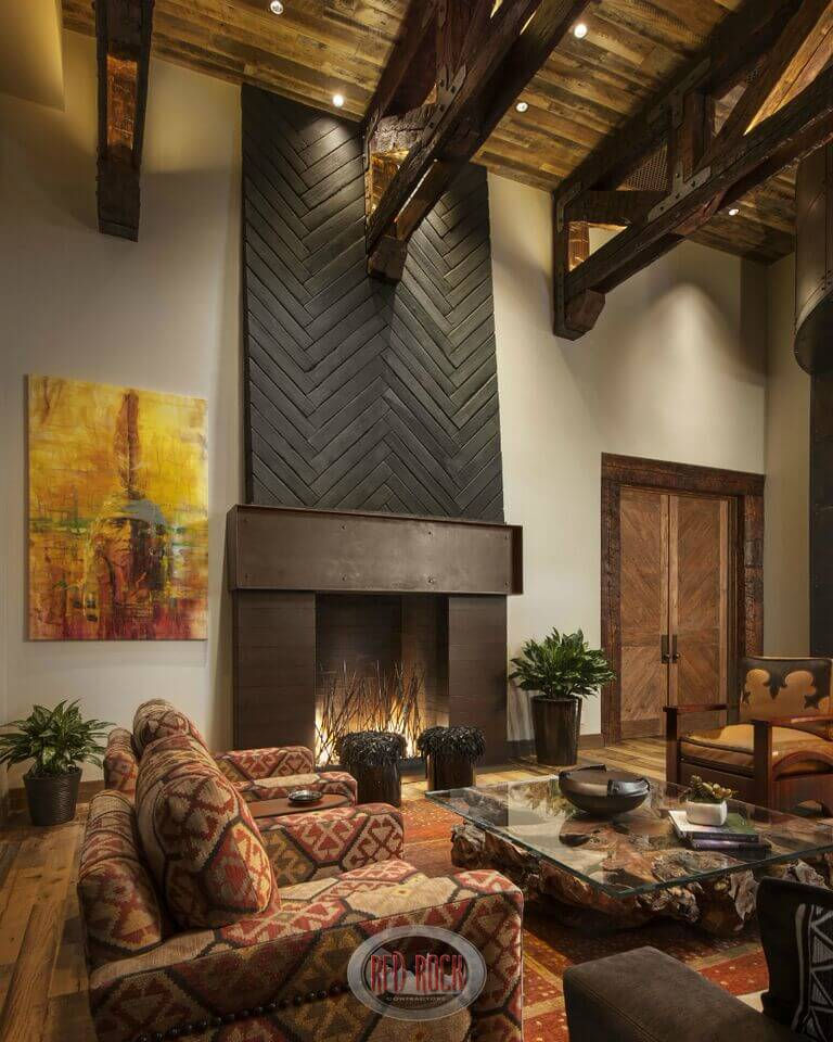 Buy And Sell Fireplace Accent Wall: 21 Gorgeous Living Rooms With Accent Walls Of All Styles