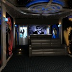6 Themed Home Theaters by 3-D Squared