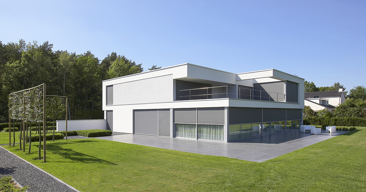 Minimalist Villa Project By Lab 32 Architecten