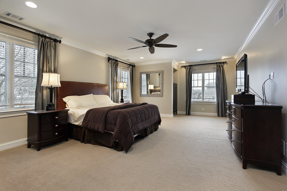 16 luxurious bedrooms complete with flatscreen televisions - High End Master Bedroom Furniture