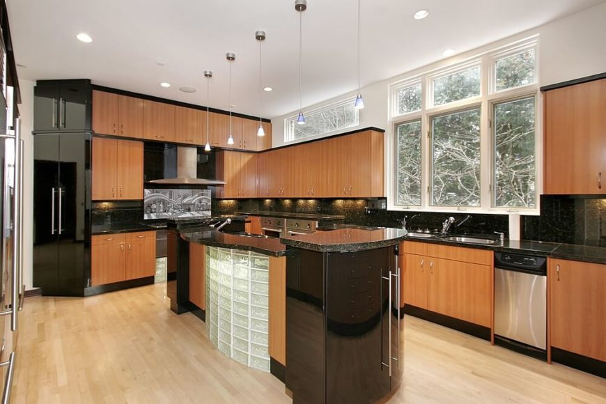 53 Fantastic Kitchens with Black Appliances (PICTURES)