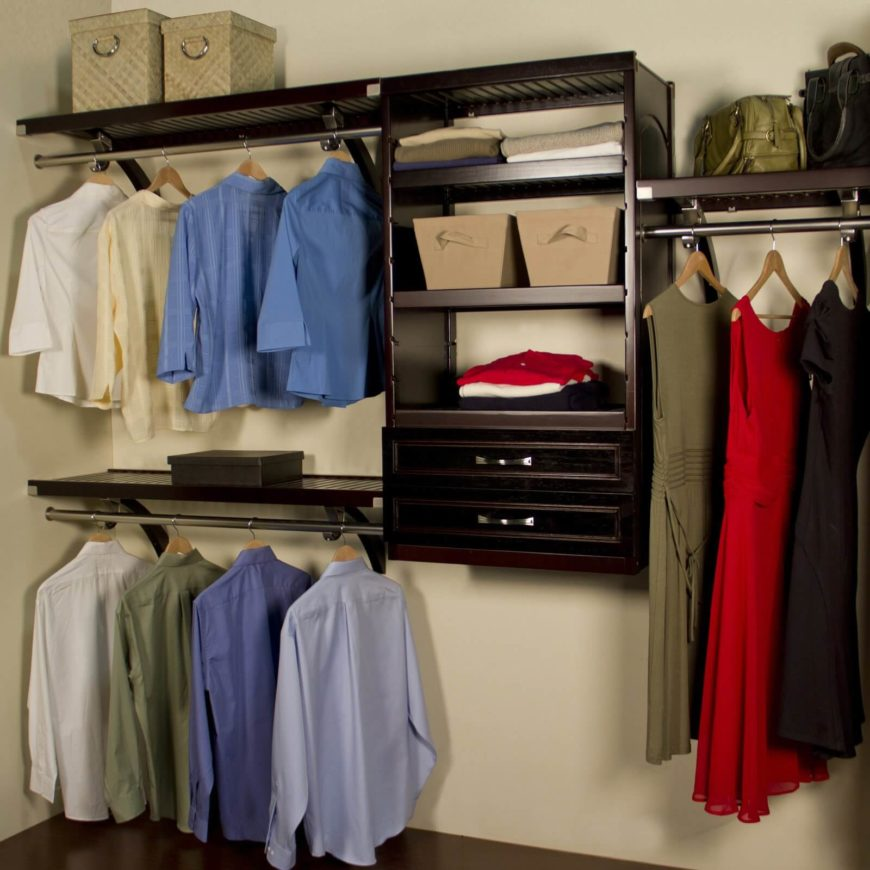 This Deluxe Closet Organizer Has Plenty Of Sturdy Racks, Shelves, And A Few  Drawers