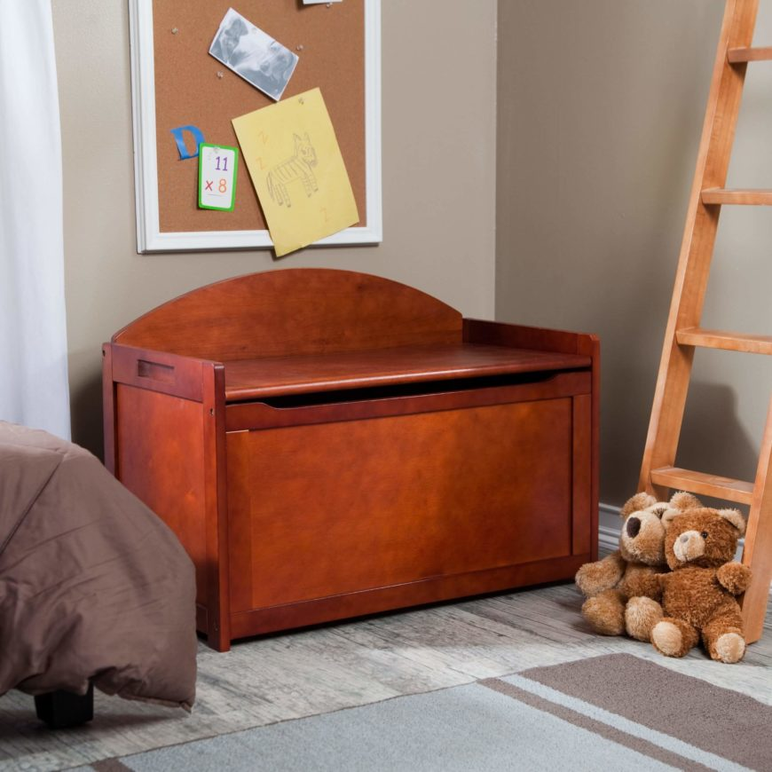 The sturdy wooden construction means you won't be replacing it anytime soon.