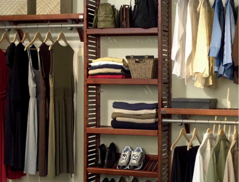 Closet storage organizer system & 143 Home Storage and Organization Ideas (Room-by-Room)
