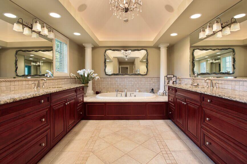 21 Fantastic Bathrooms With Two Mirrors (PICTURES) on bathroom lighting ideas over mirror, bathroom sconces and mirrors, bathroom vanity mirrors, bathroom lights, bathroom mirror trim ideas, bathroom curtains at lowe's, bathroom mirror makeover ideas, bathroom mirror border ideas, bathroom wall mirror ideas, unique bathroom lighting ideas, bathroom vanity lighting, bathroom shower lighting ideas, bathroom mirror over recessed lighting, bathroom mirror cabinet ideas, vanity mirror lighting ideas, master bathroom lighting ideas, bathroom lighting fixtures, update bathroom mirror ideas, bathroom sconce lighting, bathroom sink lighting ideas,
