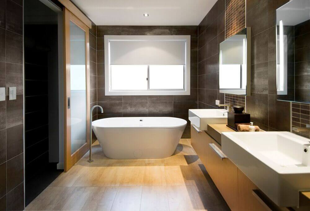 20 Captivating Bathrooms With Square Sinks