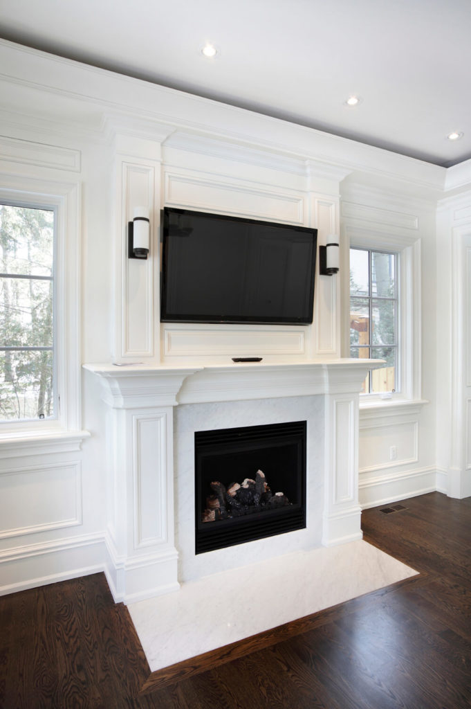 49 Exuberant Pictures Of Tv S Mounted Above Gorgeous Fireplaces