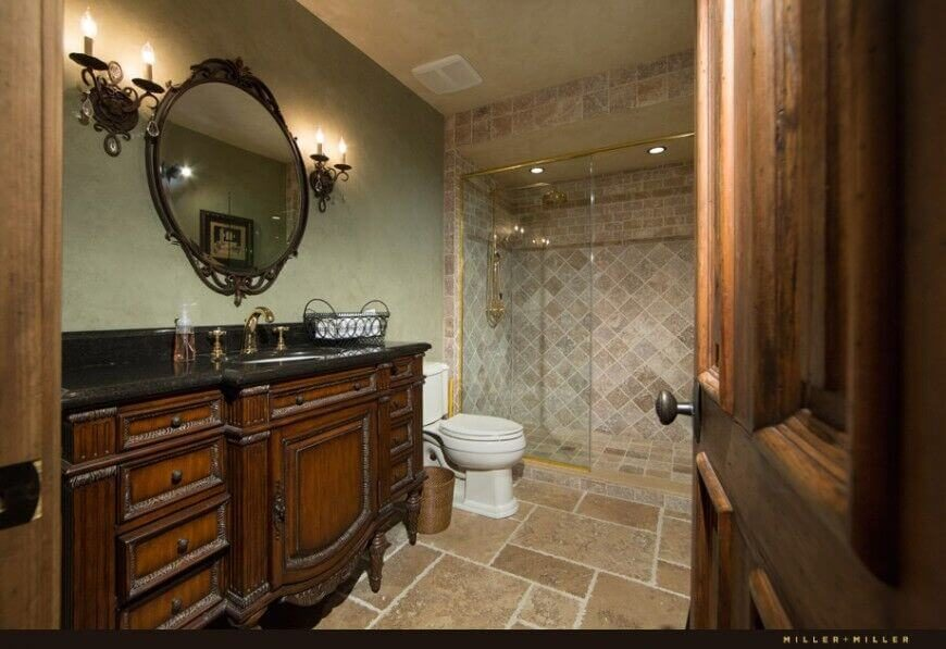 Gorgeous Bathrooms With Dark Cabinets LOTS OF VARIETY - Bathroom vanities naperville