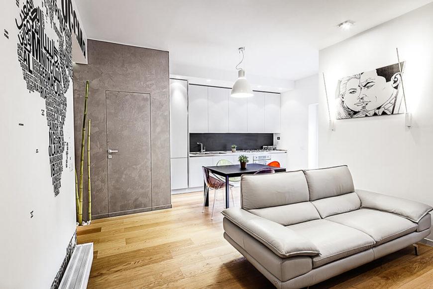 Modern interior design for world travelers.