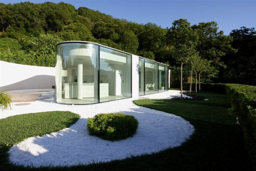 Using Glass As An Exterior Material Isnt For Everyone But It Can