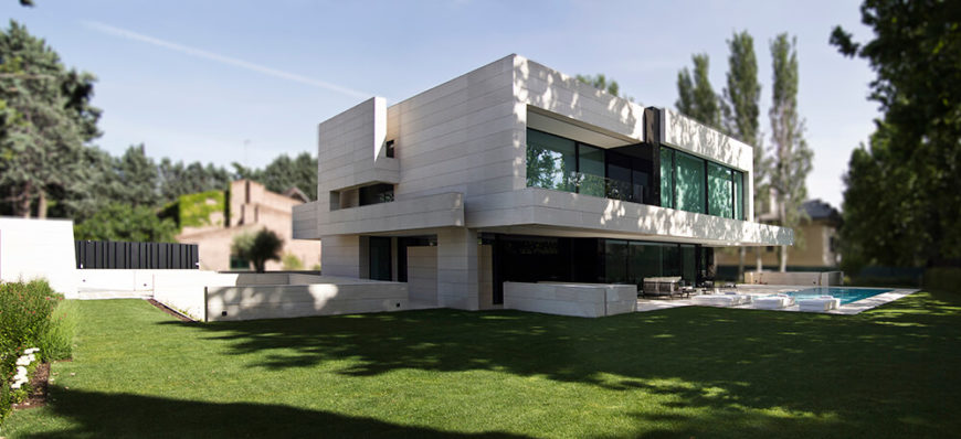 Modern home design from A-cero.