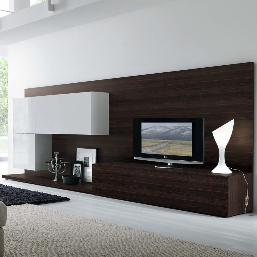 All Modern Store: The Best Man Cave Entertainment Centers From Around The