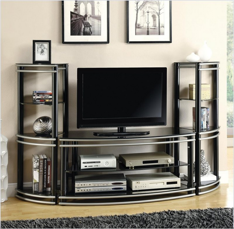 The Smoothly Curved Metal Construction And Black Glass Surfaces On This Unit Inspire A Sense Of